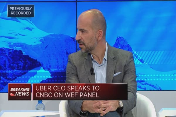 Uber doubling down on efficiency of its service, CEO says