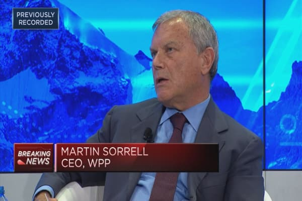 Martin Sorrell: Need to differentiate between media and tech firms