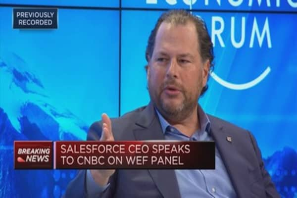 Salesforce CEO: Uber issue became a crisis of trust