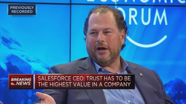 Salesforce CEO on regulation and innovation