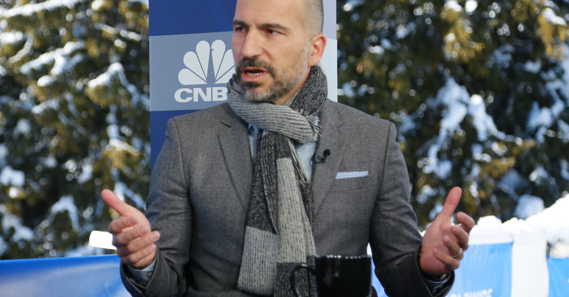 Uber CEO just gave a big (obvious) clue on how to get a great rating on Uber