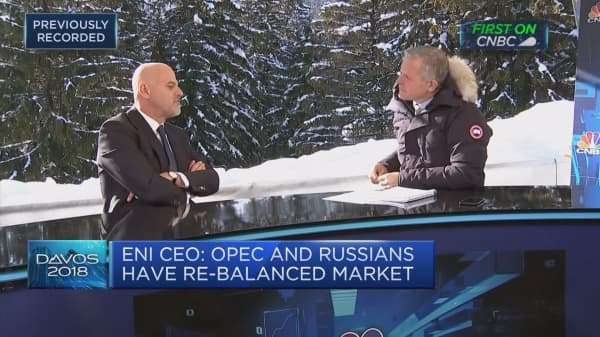 Eni CEO on challenges to the oil market