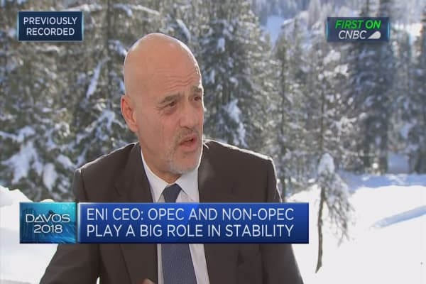 Eni CEO: Italy needs a strong government, reform