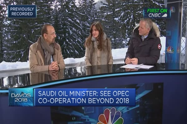 Saudi energy minister: Not targeting a specific oil price