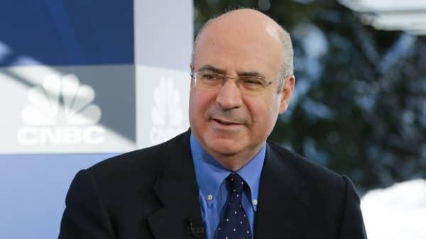 Bill Browder at the 2018 WEF in Davos, Switzerland.