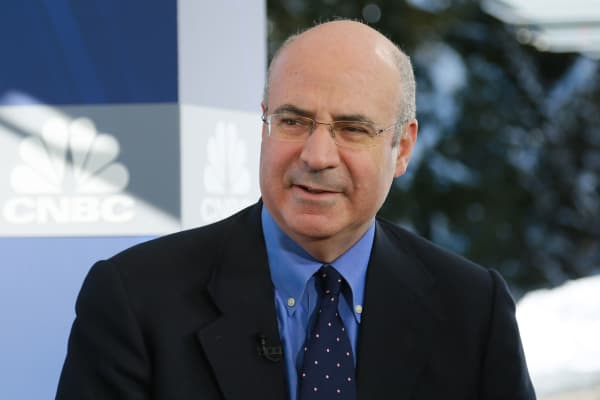 Bill Browder at the 2018 WEF in Davos, Switzerland.
