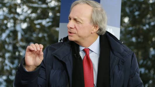 Ray Dalio at the 2018 WEF in Davos, Switzerland on Jan. 23rd, 2018.