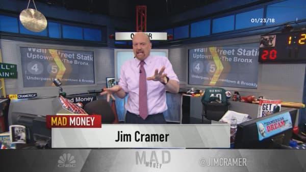 Cramer's lightning round: Buy HP Inc. despite Morgan Stanley's downgrade