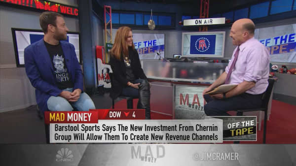 'There is nothing that this company can't do': Barstool Sports CEO