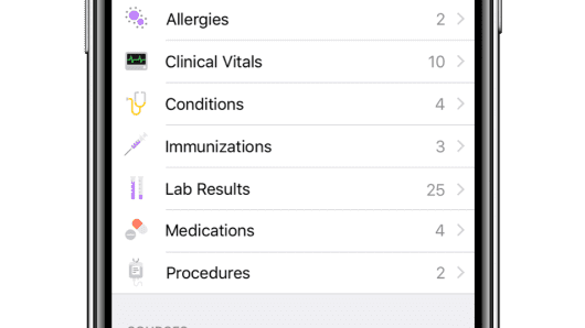 Apple Adds 'Health Records' Feature to Health App in iOS 11.3