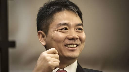 Richard Liu, founder of Chinese e-commerce player JD.com