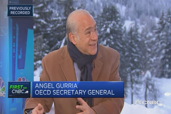 We've almost run out of room on fiscal and monetary policy: OECD's Gurria