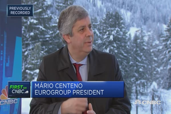 My eurogroup presidency won't be that different to Dijselbloem's, says Portugal's Centeno