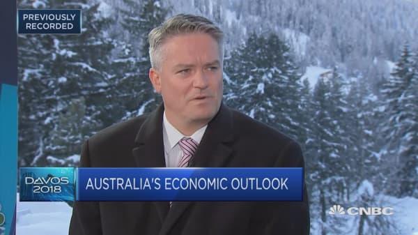 : Australia finance minister