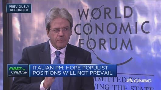 Italian prime minister: Center-left will be pillar of any coalition