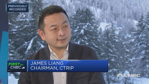 Ctrip chairman: China has a huge cohort of innovators