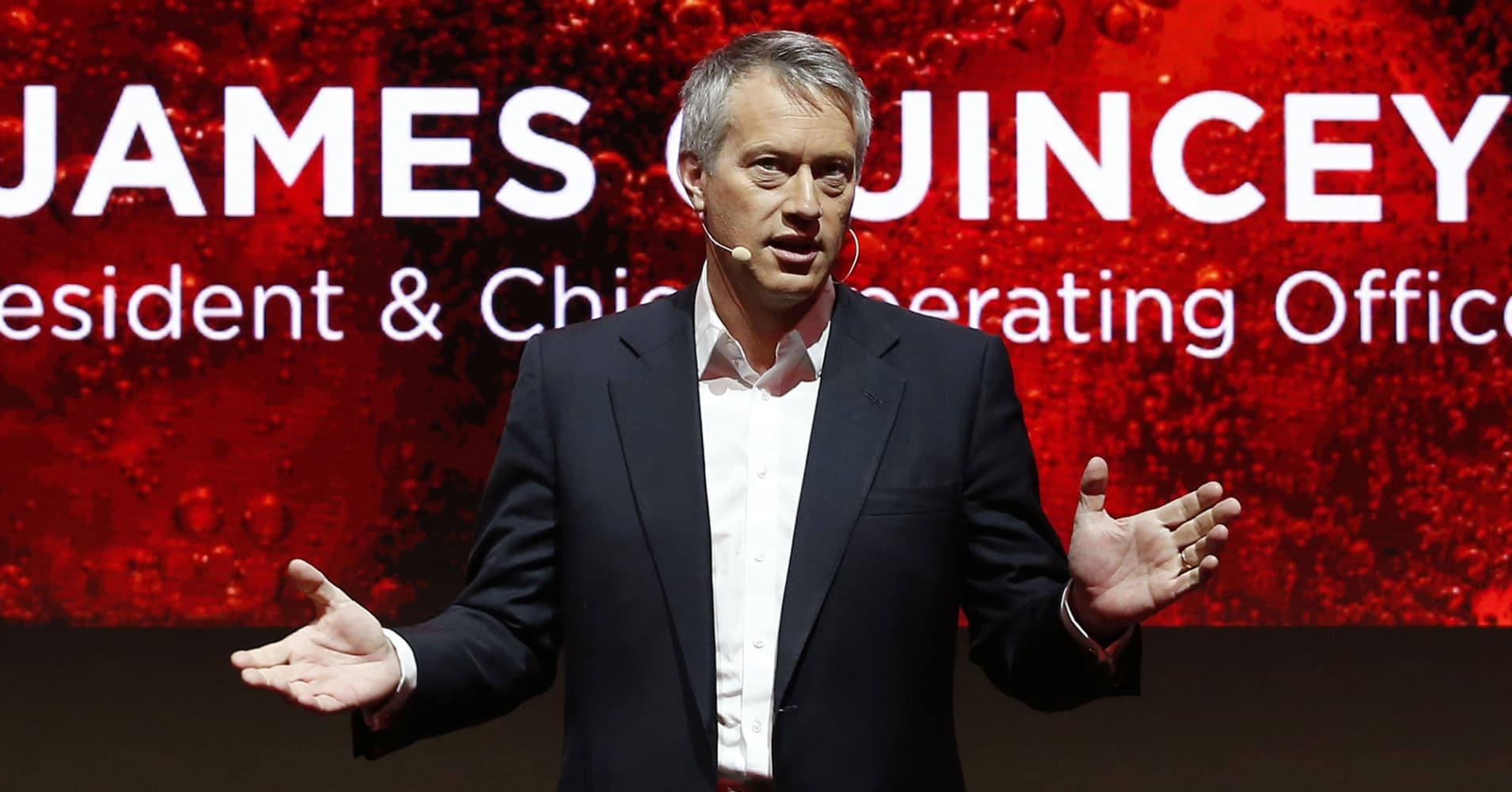 Coca-Cola CEO on coffee strategy: We're not going head to head with Starbucks
