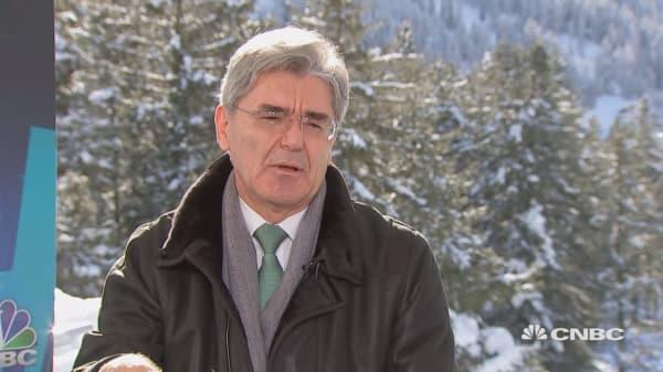 Siemens CEO on German politics: 'The world is watching us'
