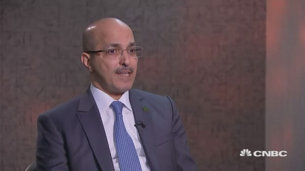 Saudi finance minister: Committed to a transparent process
