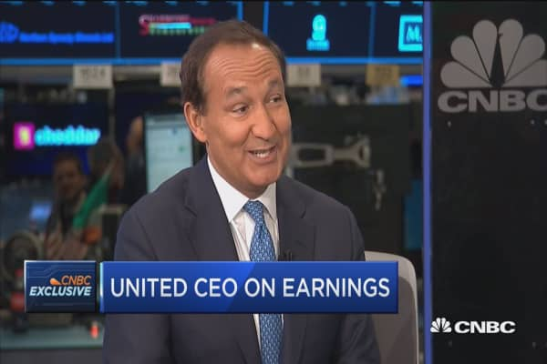 United CEO: Airline industry has been improving