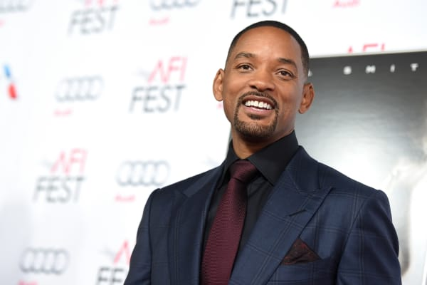 Actor Will Smith attends the Centerpiece Gala Premiere of Columbia Pictures' 'Concussion' during AFI FEST 2015.