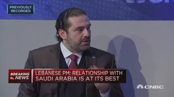 'My focus is my state,' Lebanese prime minister says