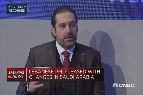 'Iran has to stop meddling in Yemen,' Lebanese PM says