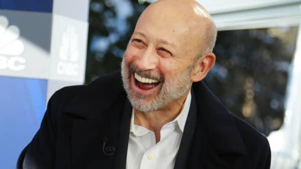 Lloyd Blankfein, CEO, Goldman Sachs