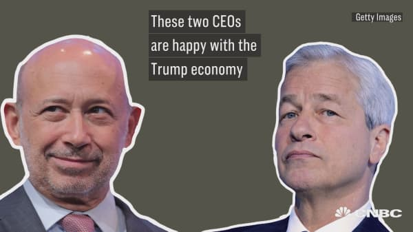 These two CEOs are happy with the Trump economy