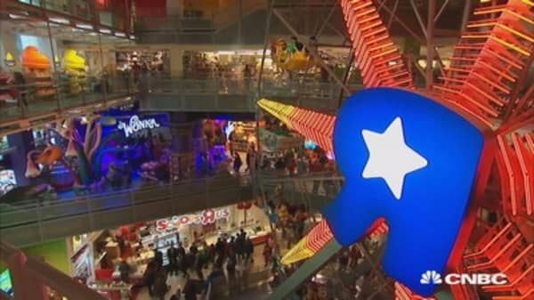 The rise and fall of Toys R Us