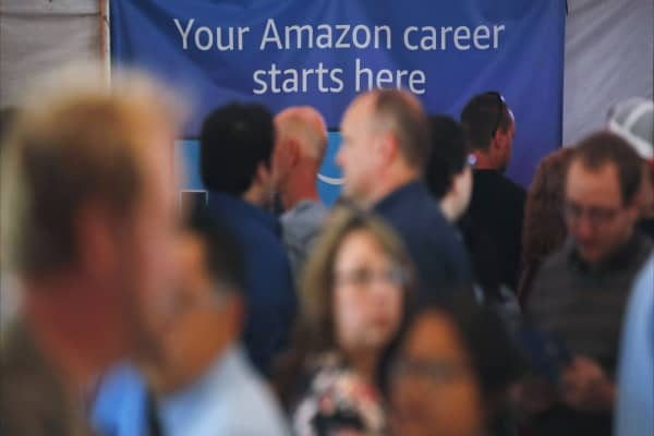 Jeff Bezos' net worth is soaring, but his employees are struggling