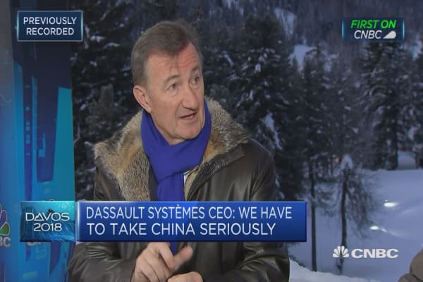 Tesla are creating a new type of vehicle: Dassault Systemes CEO