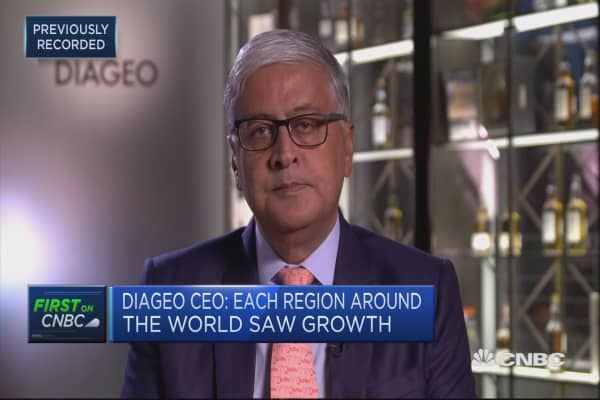 Hope potential trade war won't affect us: Diageo CEO