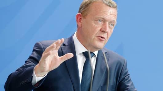 Danish President Lars Lokke Rasmussen.