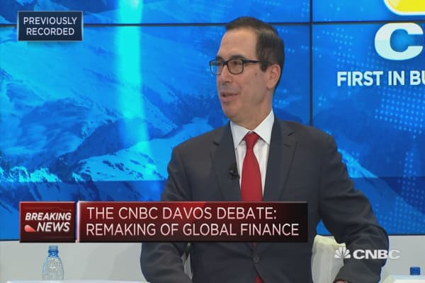 US Treasury Secretary Mnuchin: Consistent in comments on dollar