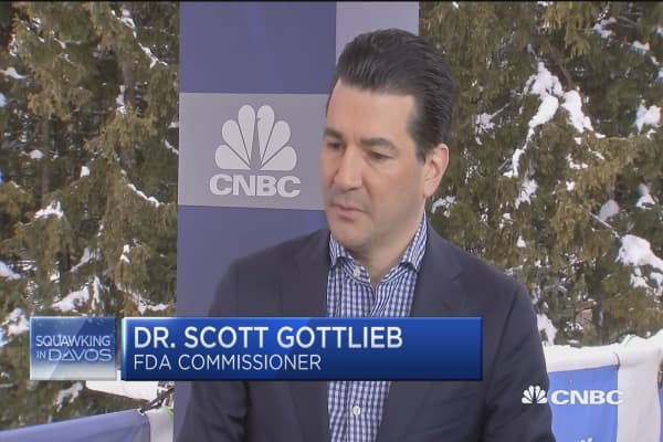 FDA's Scott Gottlieb: Expect a couple more weeks of flu season