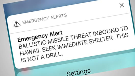 U.S. senator from Hawaii: States should not send missile alerts