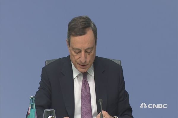 Draghi: Inflation will converge close to our target