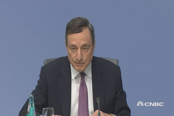 Draghi: Recent FX volatility a source of uncertainty