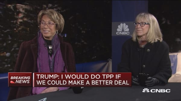 UC Berkley's Laura Tyson: TPP was good news for the world economy
