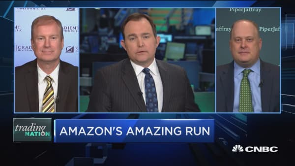 Trading Nation: Amazon's amazing run