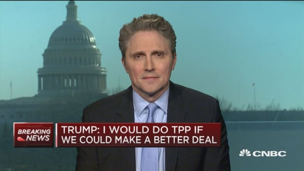 AEI's Pethokoukis: Trump's 'bad deal' talk no way to get a trade agreement