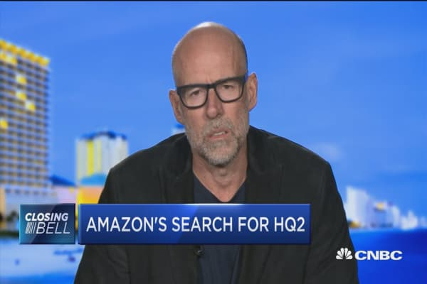 Amazon is creating 'Hunger Games' environment for HQ2 finalists: NYU's Scott Galloway