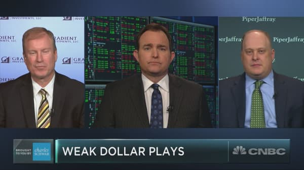 What to buy as the U.S. dollar tumbles