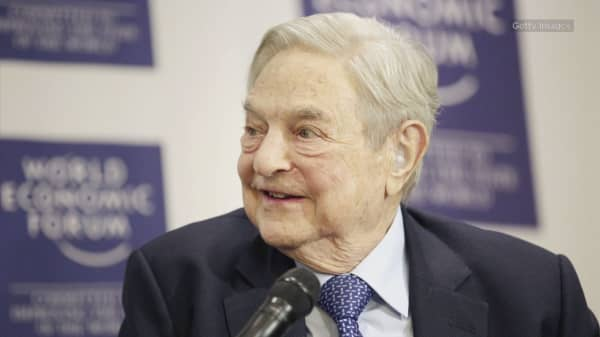 Soros: Trump has US 'set on a course towards nuclear war'