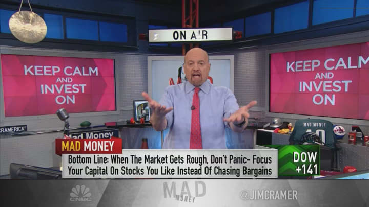 Cramer: I helped investors through the 2010 flash crash by following one key rule