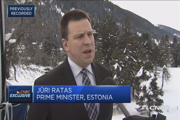 Estonian PM: All NATO members would like to live in peace