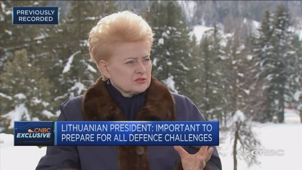 Lithuanian president: Russia is engaged aggressively around world