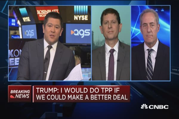 Trump administration's body language has been pretty anti-trade: Fmr. Asst. Treasury Secretary