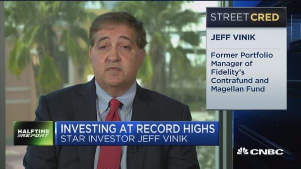 Jeffrey Vinik: We're probably in late stage of bull market